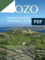 Gozo Idyllische Insel des maltesischen Archipels