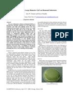 Advances in Large Diameter Gan