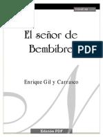 GIL Y CARRASCO ENRIQUE - El Señor De Bembibre