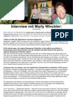 Interview mit Marly Winckler DEUTSCH