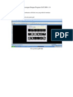 Rancangan Dengan Program SAP 2000 v 14