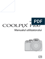 Manual de Utilizare Nikon P100