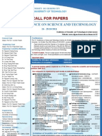 Call for Papers 2011 Overseas