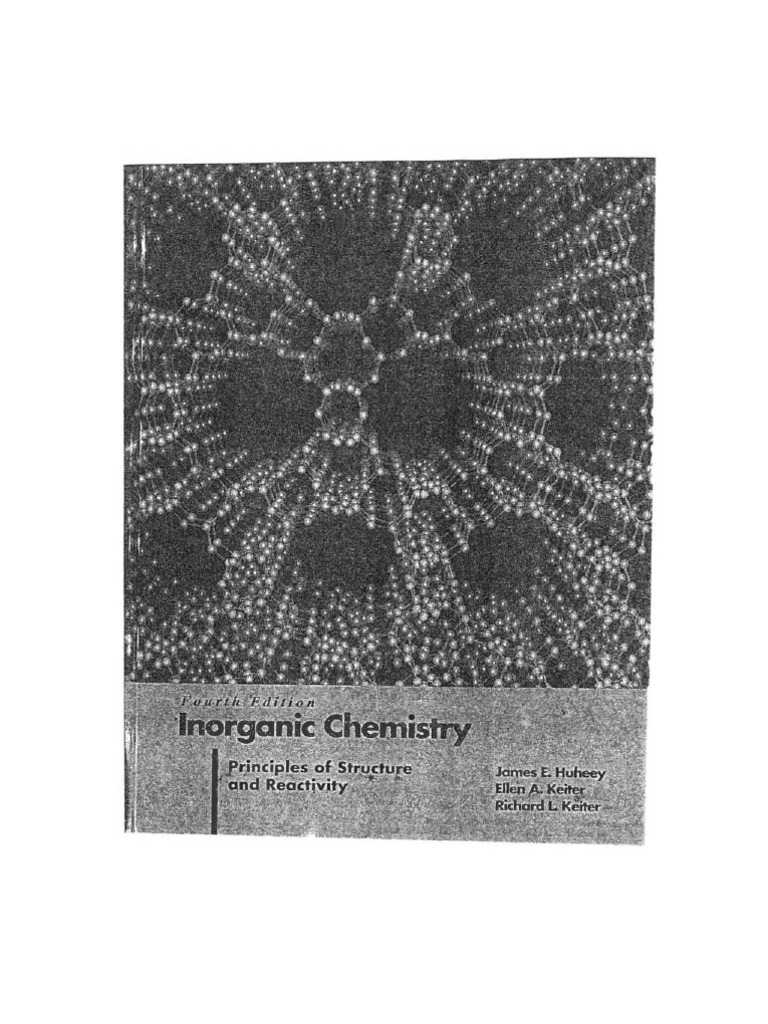 Solution manual for inorganic chemistry: gary miessler, donald a.