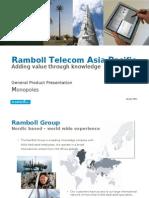 An RambTel Monopole Presentation 280111