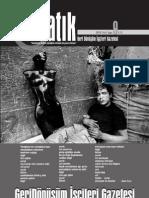 Katık Geri Dönüşüm İşçileri Gazetesi - Sayı 9