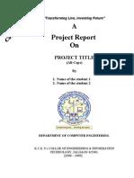 Project Report Format-Sem2
