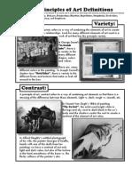 Principles W-Examples Deff
