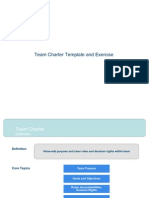 Team Charter Template and Processs