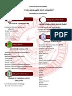 WMSU Undergraduate Programs