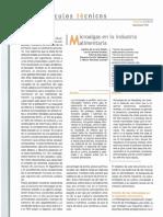 Microalgas en la Industria Alimentaria