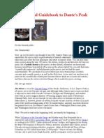 Anguita Geologiacal Guidebook to Dantes Peak