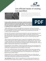 2011 03 Efficient Carbon Nano Fibers