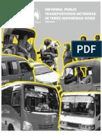 Informal Public Transport Study by CDIA on Palembang - Surakarta - Yogyakarta