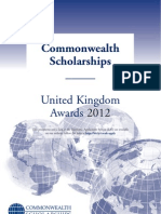 Prospectus Scholarships 2012