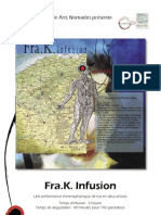 Fra K Infusion, a chromophonic experience. Cartes postales sonores et picturales.