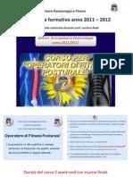 Programma formativo  anno 2011-2012