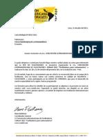 Carta de invitación para facilitadores de latinoamérica