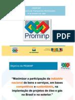 PROMINP - Programa de Mobilização da Indústria Nacional de Petróleo e Gás Natural