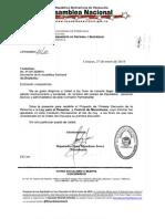 PROYECTO LEY DESARME Y CONTROL DE MUNICIONES