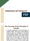 Principle of Totality