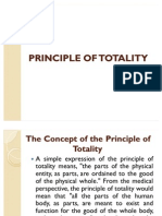 Principle of Totality