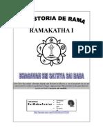 TRUE RAMA STORY-RAMA KATHA RASVAHINI-OF SAI gfr.