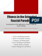 Fitness in the Extended Fascial Paradigm