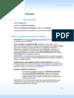 Live@Edu Deployment Checklist Es-es