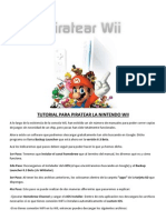 Tutorial Para Piratear La Nintendo Wii