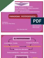 DIAPOSITIVAS POSTPOSITIVISMO