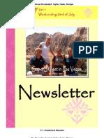 Newsletter Week 6 2011