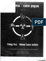 US Special Virus Program Progress Report 8 1971