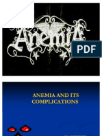 Anaemia and Its Complications