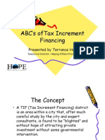 ABC's of Tax Increment Financing