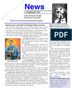February 2007 Spot News