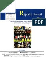 Reporte Anual 2011 UVG Campus Sur