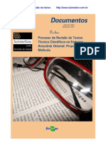 Processo de Revisão de Textos Técnico-Científicos