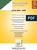 DU de pathologie de l'oralité 08-09