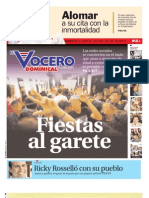 Domingo 24 de Julio del 2011