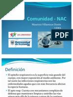 Neumonía Adquirida en la Comunidad - NAC