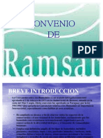 CONVENIO de Ramsar Power Point