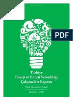 Türkiye Enerji ve Enerji Verimliliği Çalışmaları Raporu