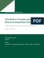 Bruche Tata Transition Resource Acqusition Plan