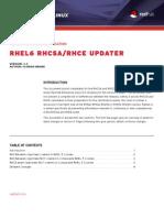 Rhel6 Rhcsa Update