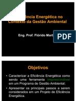 A Eficiência Energética no contexto da Gestão Ambiental