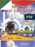 140 Aniversario del barrio La Libertad - Jauja
