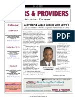 Payers & Providers Midwest Edition -- Issue of July 26, 2011