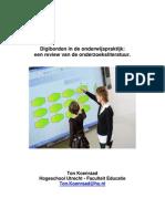 Digiborden in de onderwijspraktijk:een review van de onderzoeksliteratuur