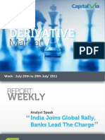 Stock Futures and Option Reports for the Week (25th - 29th July '11)
